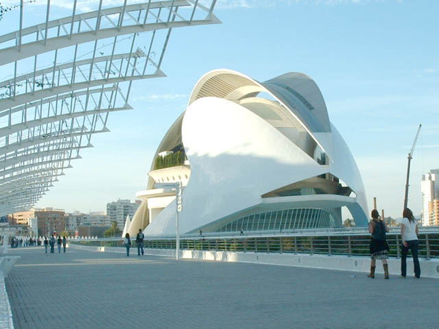Palau De Les Artes - Valencia City of Arts and Sciences - Spain
